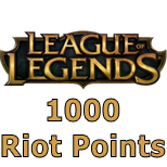 League of Legends 1000 Riot Points