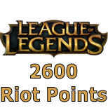 League of Legends (2600 RP)