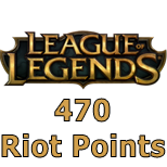 League of Legends (470 RP)