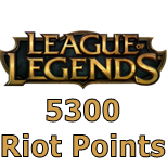 League of Legends (5300 RP)